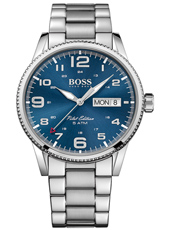 1513329 Pilot 44mm Steel Gents Watch with 24 Hour Dial