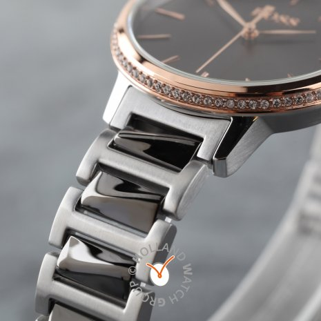 Two-tone rose ladies quartz watch Autumn and Winter Collection Hugo Boss