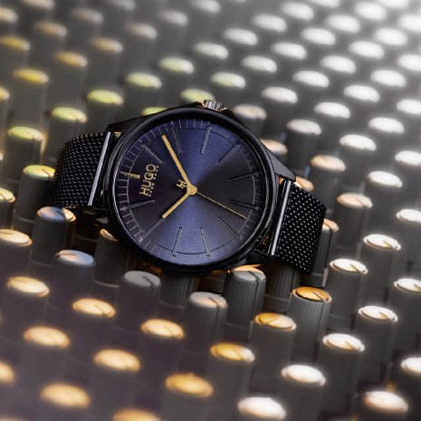 Blue minimalistic quartz watch Spring and Summer Collection Hugo Boss