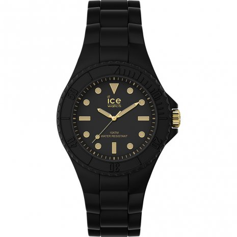Ice-Watch Generation Black Gold Watch