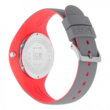 Grey & Pink Silicone Watch Size Small Spring and Summer Collection Ice-Watch
