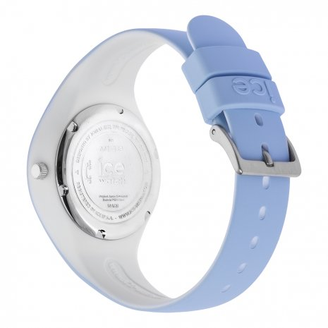Blue & White Silicone Watch Size Small Spring and Summer Collection Ice-Watch
