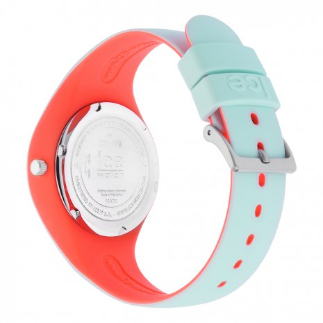 Mint Green & Pink Silicone Watch Size Small Spring and Summer Collection Ice-Watch