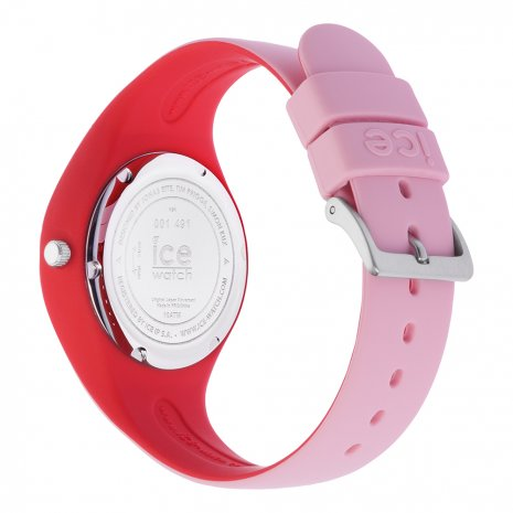 Pink & Red Silicone Watch Size Small Spring and Summer Collection Ice-Watch