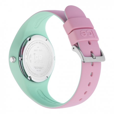 Pink & Mint Green Silicone Watch Size Small Spring and Summer Collection Ice-Watch