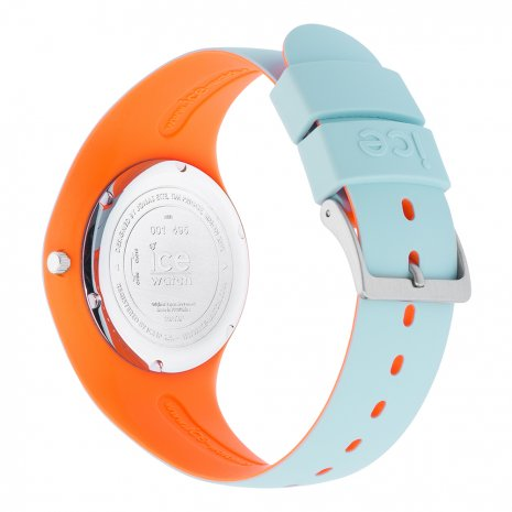 Blue & Orange Silicone Watch Size Medium Spring and Summer Collection Ice-Watch