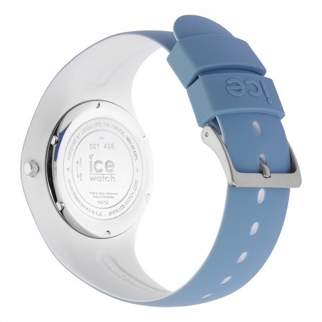 Blue & White Silicone Watch Size Medium Spring and Summer Collection Ice-Watch