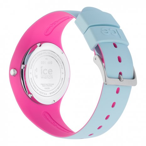 Blue & Pink Silicone Watch Size Medium Spring and Summer Collection Ice-Watch
