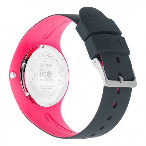 Anthracite & Pink Silicone Watch Size Medium Spring and Summer Collection Ice-Watch