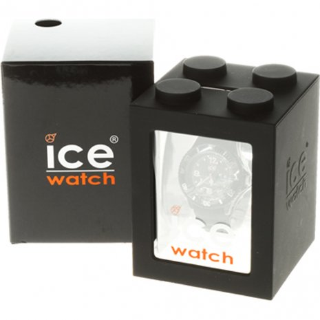 Black Resin Quartz Watch Size Large Spring and Summer Collection Ice-Watch