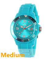 SI.TE.U.S.13 Ice-Forever 43mm Turquoise watch size Medium