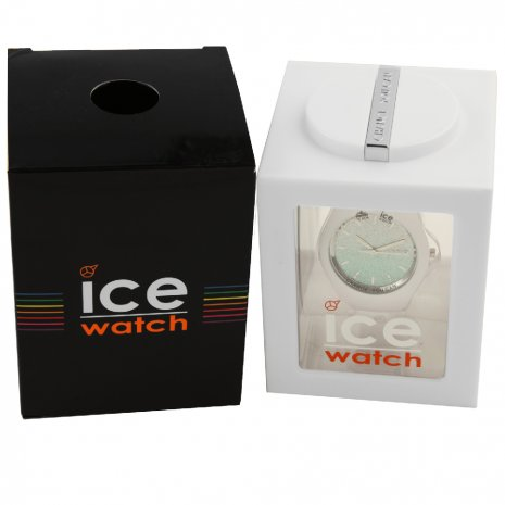 White Ladies Watch with Crystals Size Small Spring and Summer Collection Ice-Watch