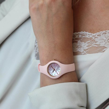 Pink & Rose Gold Watch Size XSmall Autumn and Winter Collection Ice-Watch