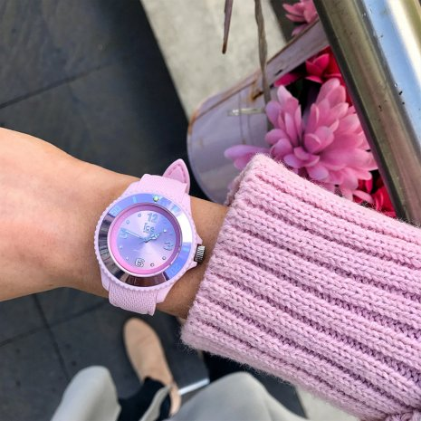 Pastel Pink Fashion Quartz Watch Size Medium Spring and Summer Collection Ice-Watch