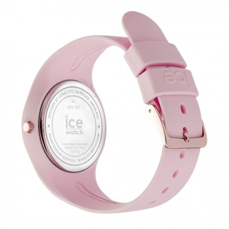 Pink & Rose Gold Silicone Watch Size Medium Spring and Summer Collection Ice-Watch