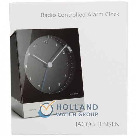 Jacob Jensen Clock Black