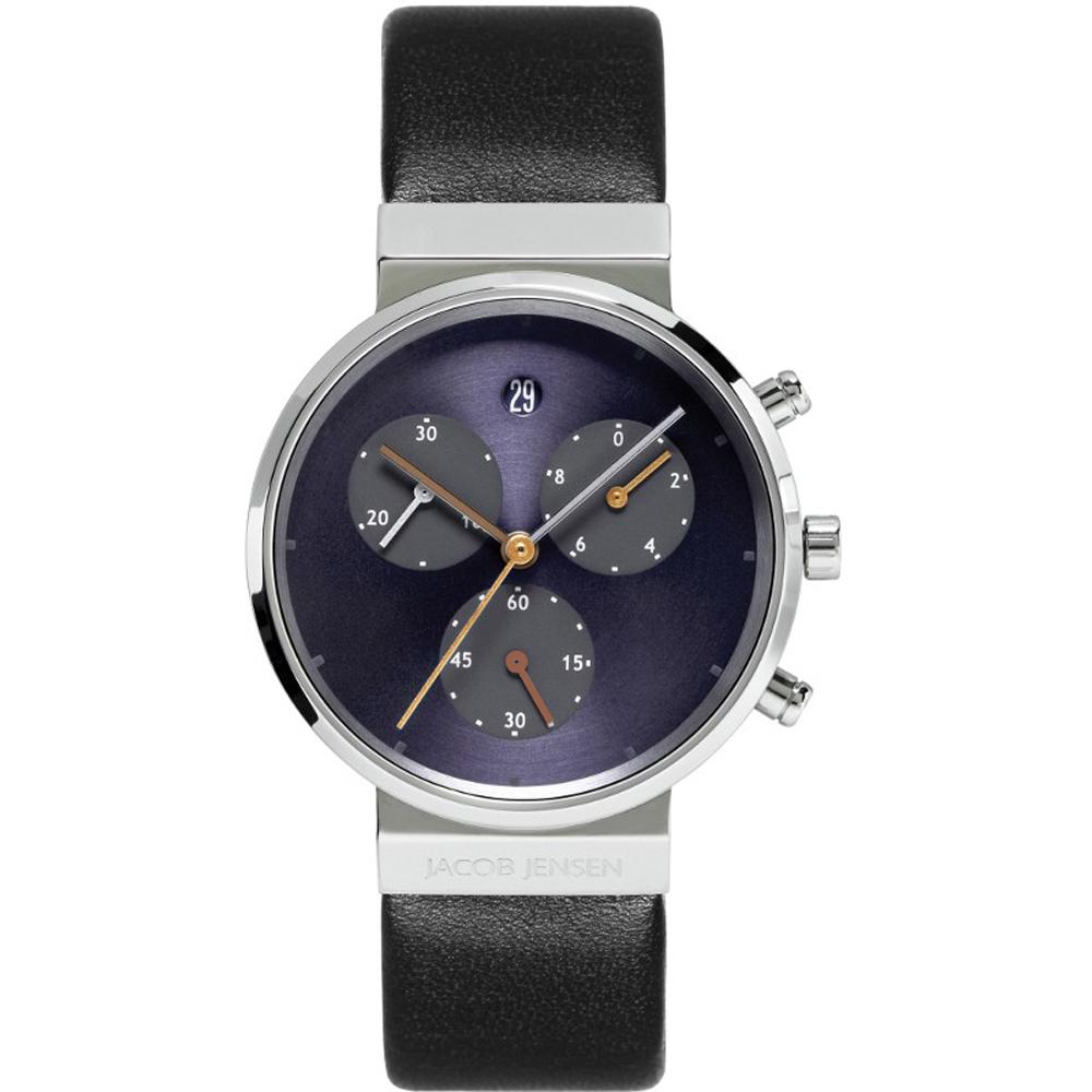 jacob jensen jj615 615 chronograph watch ean 8718569106157. Black Bedroom Furniture Sets. Home Design Ideas