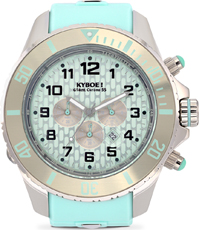 KYC-004-55 Chrono Silver Mint 55mm