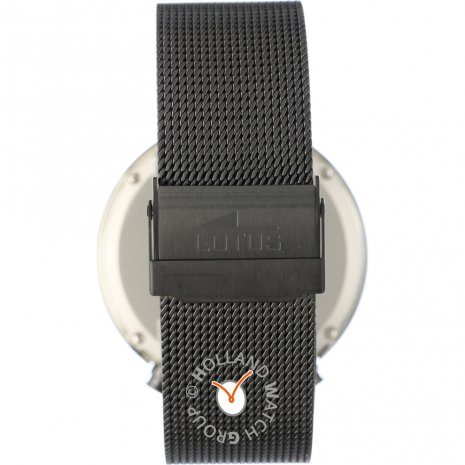Lotus Watch Black