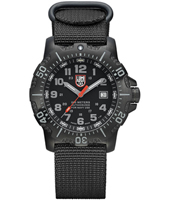A.4221.CW Anu 4200 Series  45mm Black Steel Dive Watch with Saphire Crystal, NATO Strap