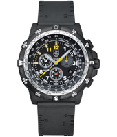 A.8841.KM Recon Leader 48mm Black mens chronograph with sapphire glass and extra Nato strap