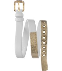 8e27b3e0176fd AMBM1255 MBM1255 Amy Dinky 10mm · Marc Jacobs. AMBM1255. MBM1255 Amy Dinky  10mm White Leather Strap