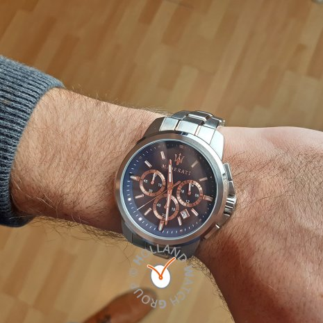 Gents Quartz Chronograph with Date Autumn and Winter Collection Maserati