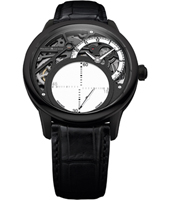 MP6558-PVB01-090-1 Masterpiece Mysterious Seconds 43mm Manufacture watch with floating second hand