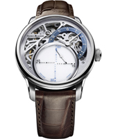 MP6558-SS001-094-2 Masterpiece mysterious seconds 43mm Manufacture watch with floating second hand