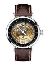 ED-SH902T Ltd. Edition Salthora  40mm Automatic skeleton watch with 'jumping hour'