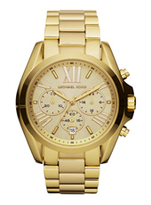 MK5605 Bradshaw 43mm Gold ladies chronograph with Date