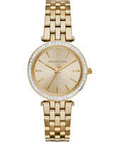 MK3365 Darci Mini Gold Ladies watch with Crystals