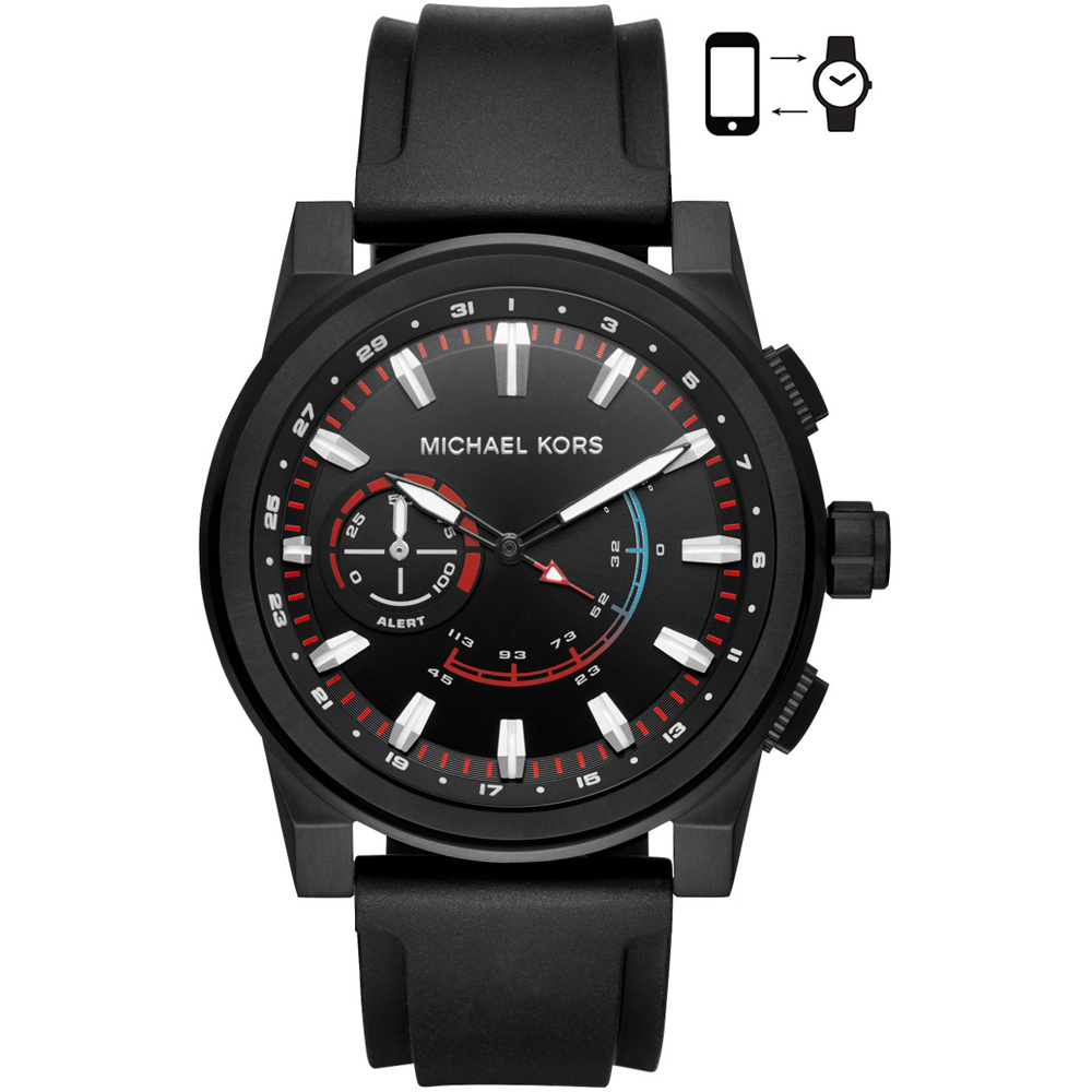 Michael Kors Mkt4010 Grayson Hybrid Watch Ean 4053858909199