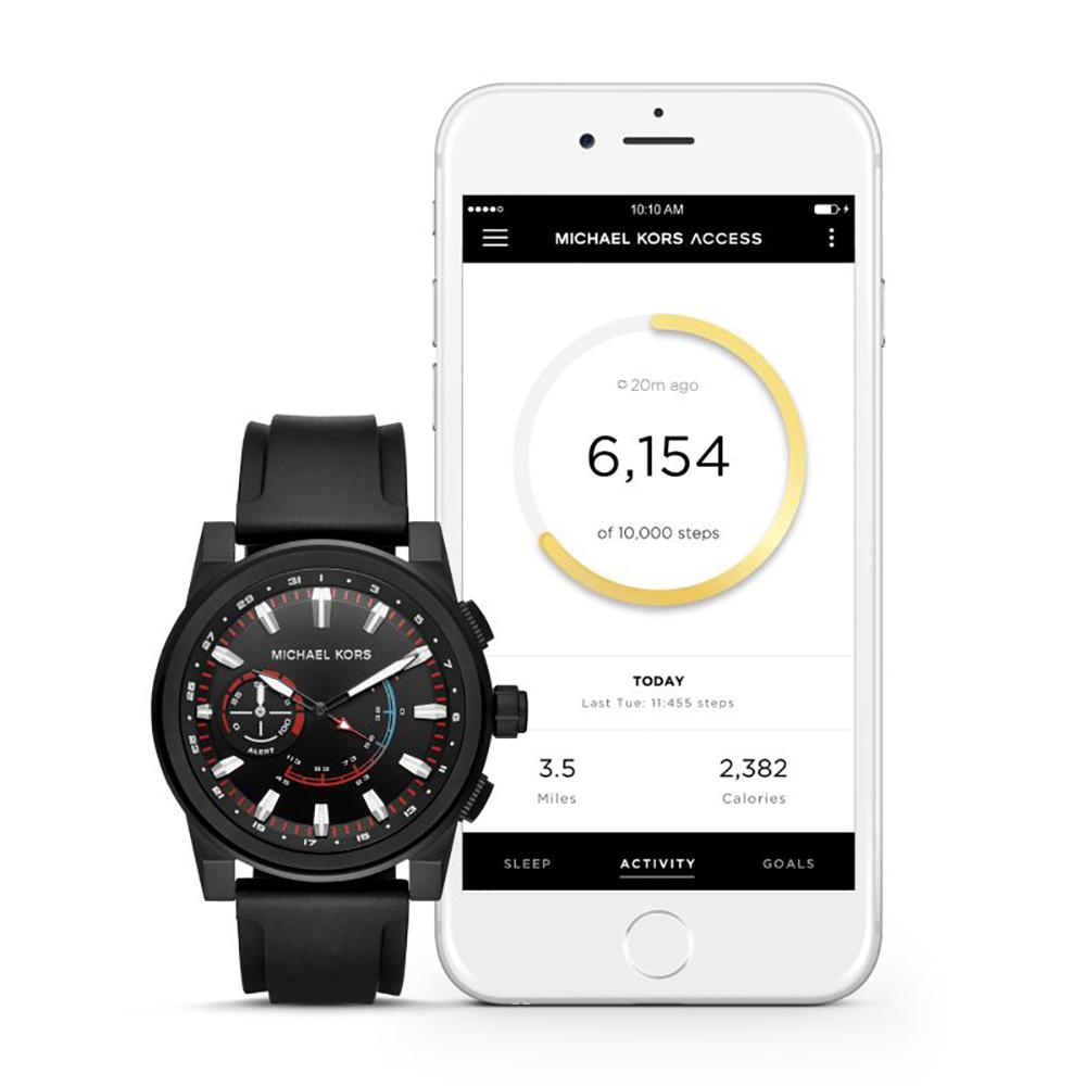 c2500b1855e6 Michael Kors MKT4010 Grayson Hybrid Watch • EAN  4053858909199 ...