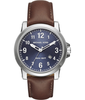 MK8501 Paxton 43mm Blue gents watch with date
