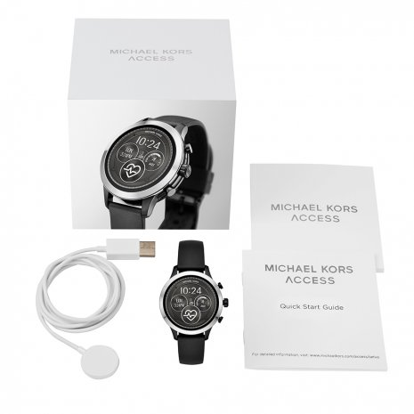 Touchscreen Smartwatch with Silicone Strap - Gen4 Autumn and Winter Collection Michael Kors