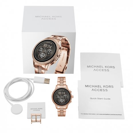Touchscreen Smartwatch with Steel Bracelet - Gen4 Autumn and Winter Collection Michael Kors