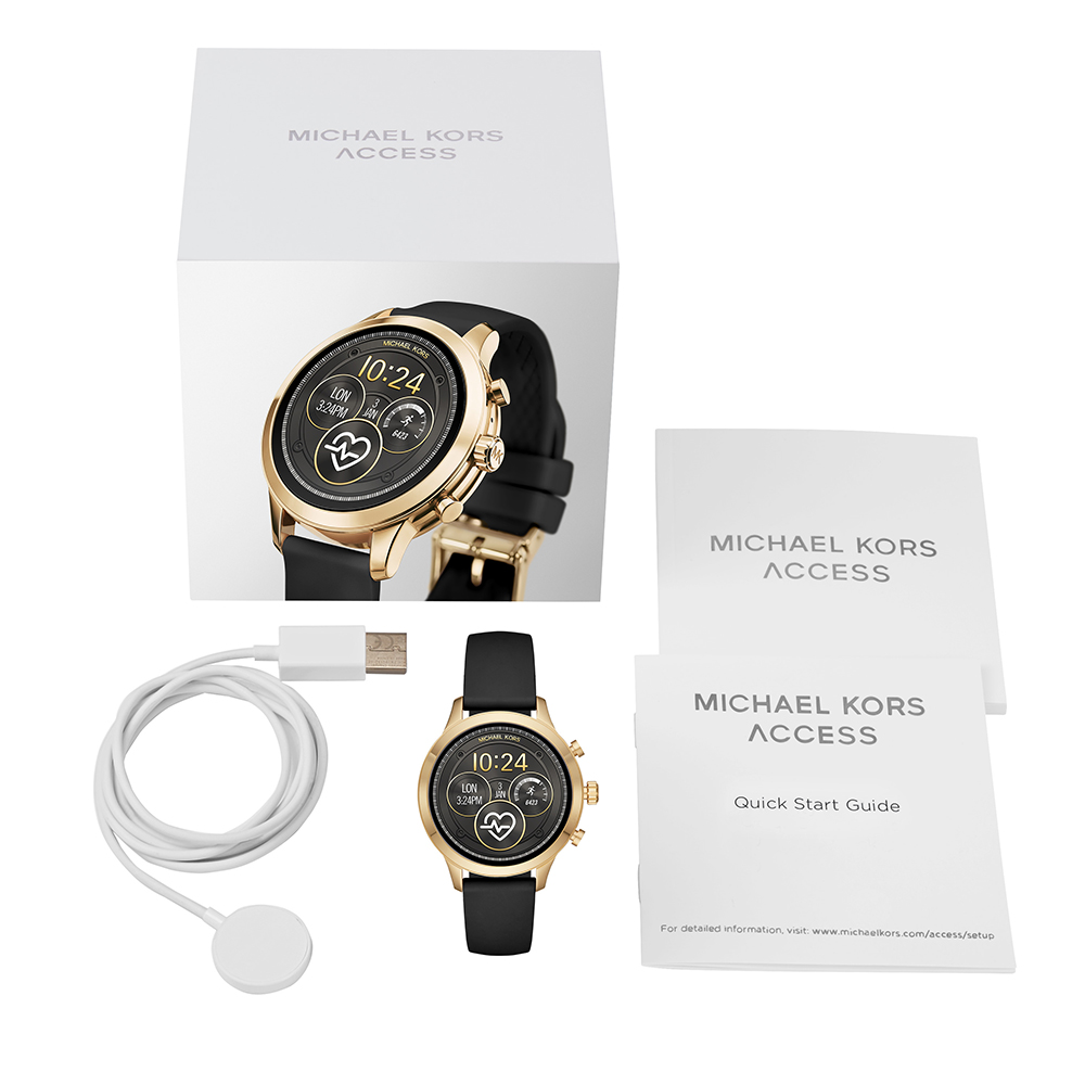 d4c1ad9c8684 Touchscreen Smartwatch with Silicone Strap - Gen4 Autumn and Winter  Collection Michael Kors