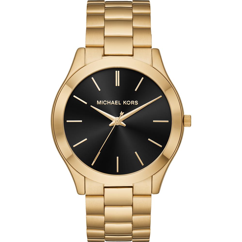 7a03b8ede24a ... Gold Dial MK2392 Womens Watch. Michael Kors Runway Slim Watch .
