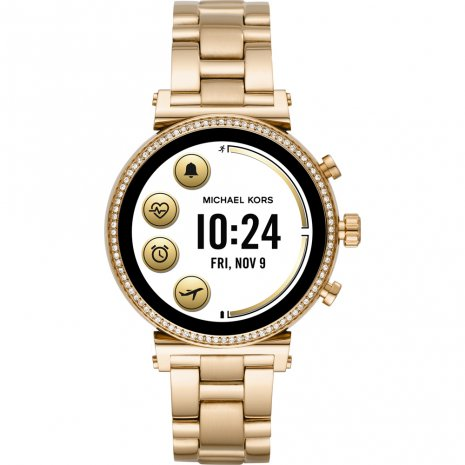 Touchscreen Smartwatch with Steel Bracelet - Gen4 Spring and Summer Collection Michael Kors