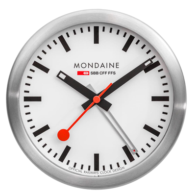 Mondaine Mini Clock Clock