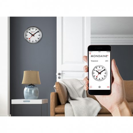 Aluminium Smart stop2go Clock Spring and Summer Collection Mondaine