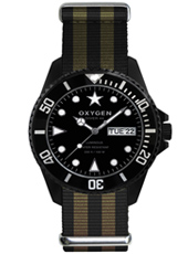 EX-D-MBB-44 Diver 44 Moby Dick Steel Gents Diving Watch with DayDate