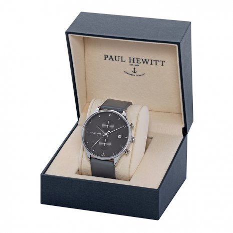 Black & Grey Chronograph Watch with Date Autumn and Winter Collection Paul Hewitt
