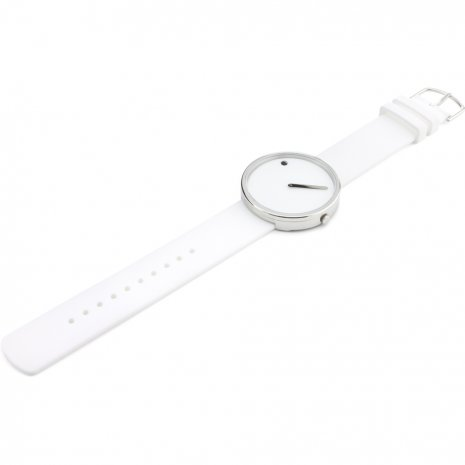 White Design Watch Medium Size Autumn and Winter Collection Picto