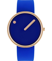 43391  40mm Royal Blue Gents Design Watch