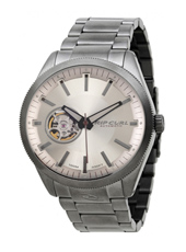 A2673-36 The Civilian 42mm Grey steel watch with skeleton window