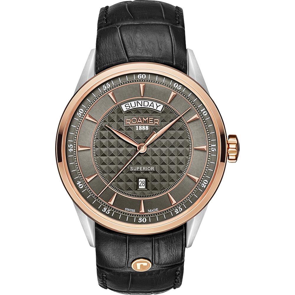 livraison gratuite Bons prix haut fonctionnaire Roamer Superior 508293-49-05-05 Superior Watch • EAN ...