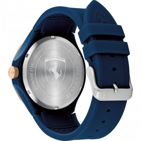 Sporty day-date watch Spring and Summer Collection Scuderia Ferrari
