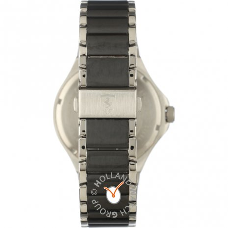 Silver day-date watch Spring and Summer Collection Scuderia Ferrari